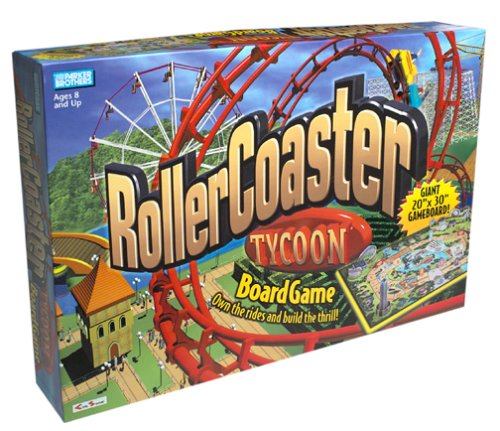 Parker Rollercoaster Tycoon Board Game (Best Roller Coaster Tycoon Game)