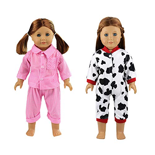 Used, Barwa 2 Sets Sleepwear Pajamas Clothes Outfit Fits for sale  Delivered anywhere in Canada