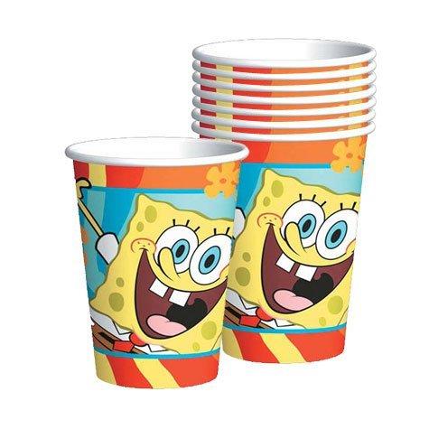 SpongeBob Paper Cups, 8ct]()