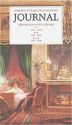 Journal des Goncourt, coffret de 3 volumes