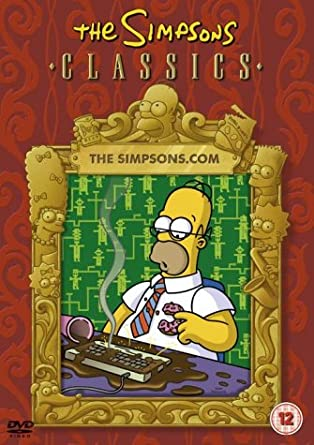 The Simpsons The Simpsons Com Dvd Amazon Co Uk The Simpsons Dvd Blu Ray
