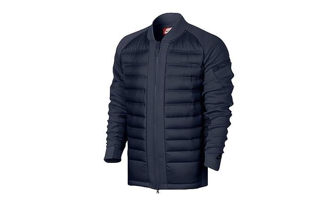 744cfa2a108d Nike Men s Tech Fleece AeroLoft 800 Down Fill Jacket at Amazon Men s ...