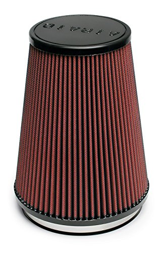 Airaid 700-469 Universal Clamp-On Air Filter: Round Tapered; 6 in (152 mm) Flange ID; 9 in (229 mm) Height; 7.25 in (184 mm) Base; 5 in (127 mm) Top