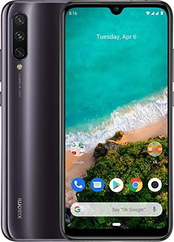 Xiaomi Mi A3 128GB, 4GB RAM 6.1' 48MP AI Triple Camera LTE Factory Unlocked Smartphone (International Version) (Kind of Grey) (Mobile Phone Xiaomi Mi3)