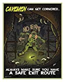 Safety Poster, English, 21'' x 27'', 1 EA pack of 5