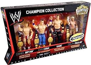 Amazon Com Mattel Wwe Wrestling Exclusive Champion