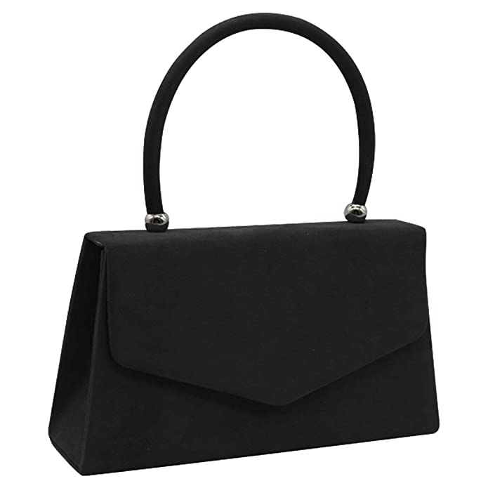 1940s Handbags and Purses History Wocharm New Ladies Suede Velvet Tote Envelope Party Prom Clutch Shoulder Handle Bag Handbag $12.89 AT vintagedancer.com