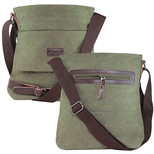 DMG 11 inch Messenger Crossbody Bag