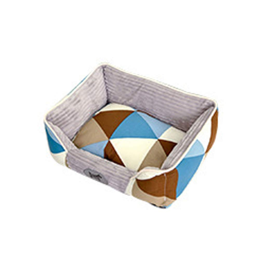 F Large F Large The Dog's Bed, Premium Plush Dog Beds in Seven Style Canvas, Fully Washable, Extremely Soft Comfortable