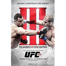 UFC 166 Cain Velasquez vs Junior Dos Santos III Sports Poster 12x18 inch