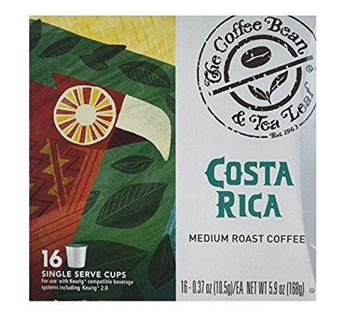 (The Coffee Bean & Tea Leaf Costa Rica Single Serve Kcups (16 Ct))