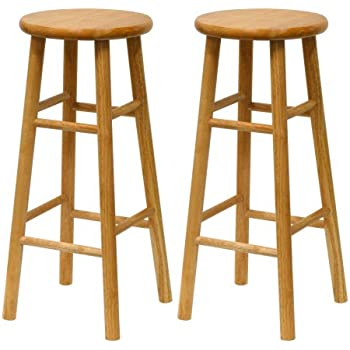 30 inch bar stools Amazon.com: Winsome Wood S/2 Wood 30 Inch Bar Stools, Natural  30 inch bar stools