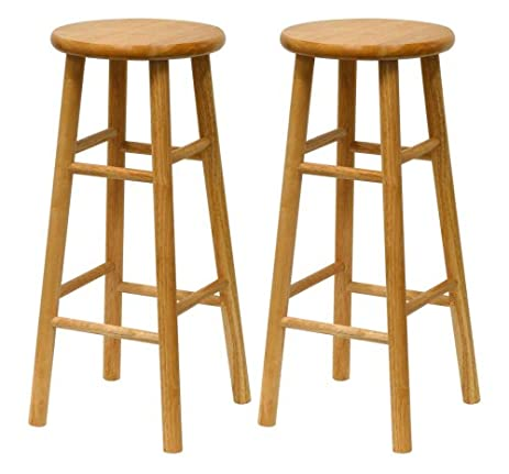 Winsome Wood S/2 Wood 30-Inch Bar Stools Natural Finish  sc 1 st  Amazon.com & Amazon.com: Winsome Wood S/2 Wood 30-Inch Bar Stools Natural ... islam-shia.org