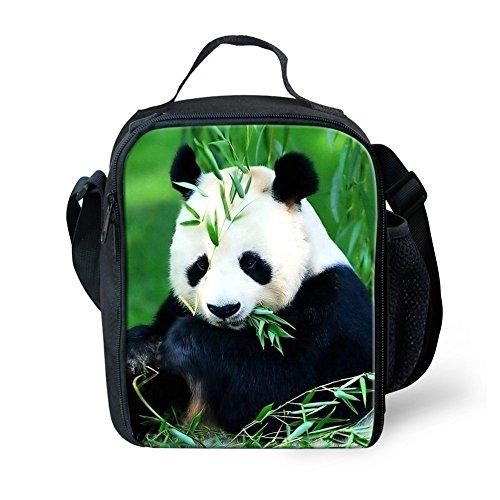 Panda School Lunch Bag Set for Girls