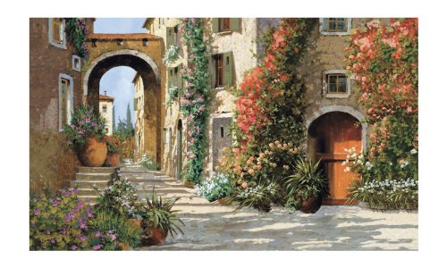 York Wallcoverings MP4870M Tuscan Breezeway Large, Mural