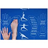 CopyCat Yoga Instructional and Educational Yoga Mat