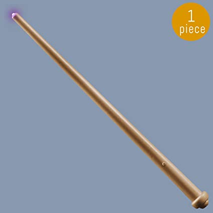 Gejoy 2 Piece Light-up Wand Magic Light and Sound Toy Wizard Wands for Cosplay