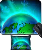 MSD Mouse Wrist Rest and Small Mousepad Set, 2pc Wrist Support design 24359101 Global Network