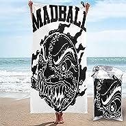 ANIYAWEI Madball Microfiber Quick Dry Towel for Beach, Workout, Yoga, Backpacking,Spa,Swim,Hiking and Home Use