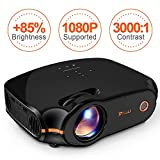 "RAGU Z498 Mini Projector, 2019 Upgraded Full HD 1080P 180"" Display Supported, 50,000 - Best Reviews Guide"