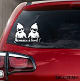 Sticker bébé à bord jumeaux swag par Kdosublim