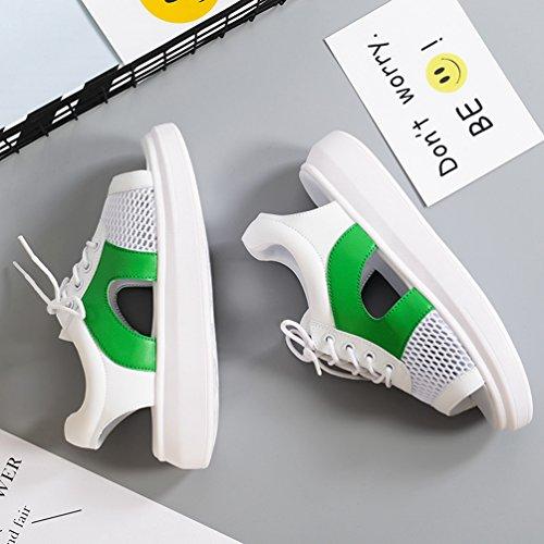 Filet JRenok de Compensées Antidérapantes Sandales Respirant Femmes 40 35 Chaussures Vert WUUTSRtr