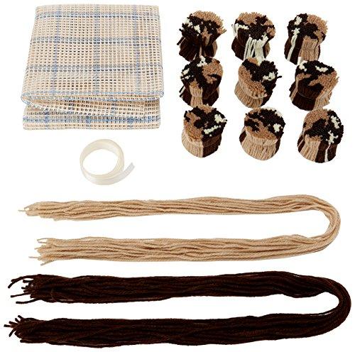 (MCG Textiles Huggables Animal Buster Bear Latch Hook)