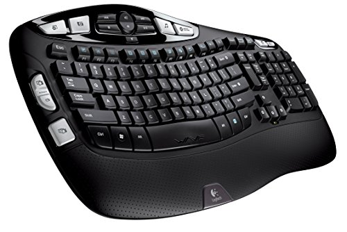 Logitech K350 2.4Ghz Wireless Keyboard (Renewed) (Logitech Wireless Keyboard 350)