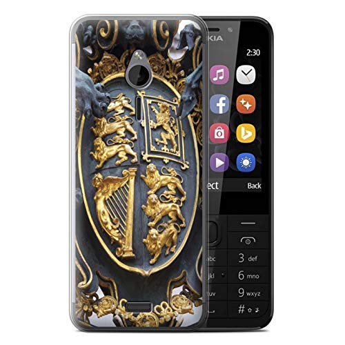 eSwish Gel TPU Phone Case/Cover for Nokia 230 / Royal Gate Design/London Sites Collection ()