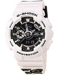 Casio G-Shock S Series Floral White Dial Resin Quartz Ladies Watch GMAS110F-7A