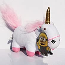 21CM Despicable Me 2 Minions Evil Unicorn Plush Stuffed Toy Minion Jorge Stew...