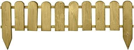 Oferta amazon: PAPILLON 8044827 Bordo Madera Valla 10 Elementos 2.4x110x 30/50 cm