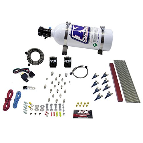 Nitrous Express 80010-05 50-300 HP Pro EFI Direct Port System with 5 lbs. Bottle for 8-Cylinder LT1 and LS1 Engines