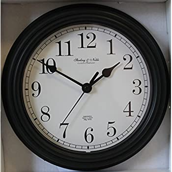 Amazon Com Sterling Amp Noble 8 75 Quot Analog Wall Clock