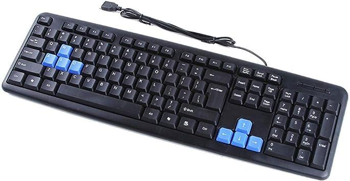 AZZ Teclado casero USB con Cable de la Oficina, combinación ...