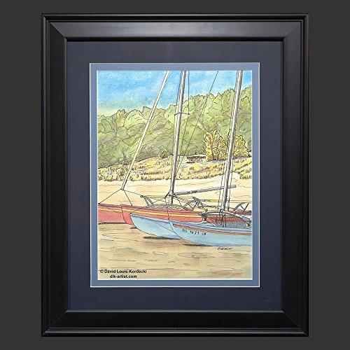 hobie-beach-a-watercolor-painting