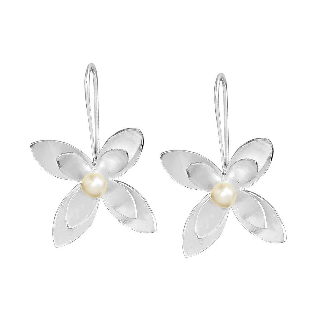 Silver Plated Classic Handmade Dangle Earrings for women and girls bohemian earrings