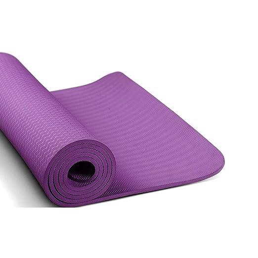 QQCR-A TPE Estera de Yoga Antideslizante Extra Gruesa de 6 ...