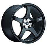 Konig CENTIGRAM Matte Black Wheel with Machined PCD (19x8.5''/5x114.3mm, +33mm offset)