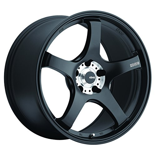 Konig Centigram Wheel with Matte Black Finish