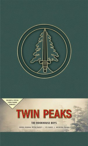 Twin Peaks The Bookhouse Boys Hardcover Ruled Journal [Insight Editions] (Tapa Dura)