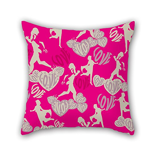 Beautifulseason The Colorful Geometry Throw Valentine Day Pillow Covers Of 18 X 18 Inches 45 By 45 Cm Decoration