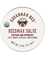 Savannah Bee Company Certified Organic Beeswax Salve 2oz