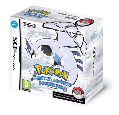 29 opinioni per Pokemon Argento SoulSilv+Pokewalker