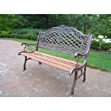 Best Oakland Living Ab Benches - Oakland Living Mississippi High Back Bench, Antique Bronze Review