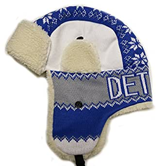 City Hunter W670 Detroit Snow Flake Trapper Hat