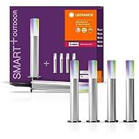 LEDVANCE Slim tuinarmatuur LED: voor grond, SMART+ Gardenpole Multicolour / 8,50 W, 220…240 V, RGBW, 2000…6500 K, body…