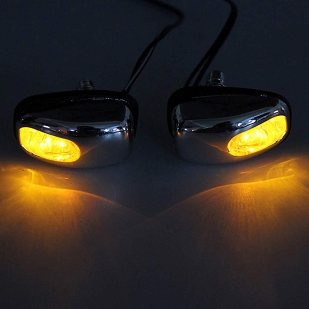 1 Paire LED Light Car Lave-Glace Essuie-Glace Jet de pulv/érisation deau Buse dessuie-Glace Spout Laveuse par Lampe Styling Universal Regard