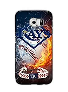 Tomhousomick Custom Design Forever MLB Tampa Bay Rays Team Case Cover for Samsung Galaxy S6