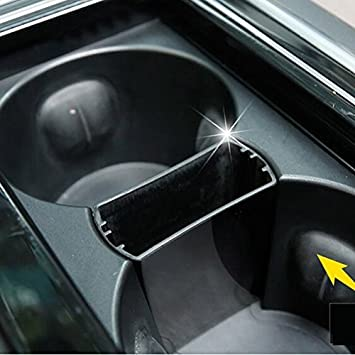 Black DEFTEN Car Seat Gap Filler Premium PU Full Leather Seat Console Organizer Car Seat Storage Box for Jaguar xj xf F-PACE 1-Pack